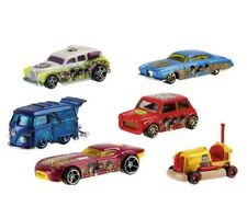 Hot Wheels The Beatles Yellow Submarine DML69 Set X 6 - 1:64 Cars