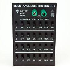 Elenco RS-500 1 Watt Resistor Substitution Box