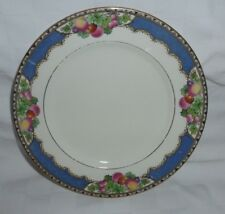 VINTAGE BOOTHS CEYLON IVORY SILICON CHINA  Orchard Pattern 1920s Side Plate .