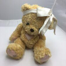 Cherished Teddies 1998 Plush Stuffed Animal Priscilla Bear Pink Heart Bow