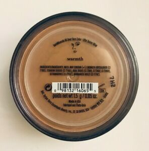 Bare Minerals Warmth All Over Face Colour Bronzer 1.5g NEW & SEALED 100% GENUINE