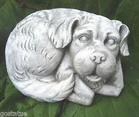 Dog latex mold plaster concrete mould