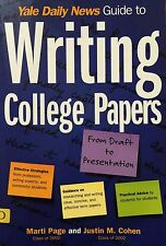 Yale Daily News Guide to Writing College Papers by Kaplan Publishing Staff,...
