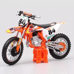 JEFFREY HERLINGS REDBULL KTM 450 SX-F 1:18  Motocross MX Toy Model Bike Orange
