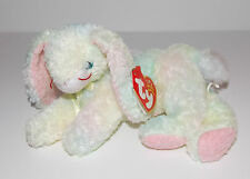 Ty Beanie Baby Cottonball Plush 8in Bunny Rabbit Stuffed Animal Retired Tag 2001