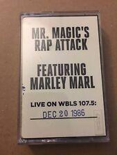 Mr Magic's Rap Attack W/ DJ Marley Marl 12-20-86 Cassette Mixtape 80s Tape