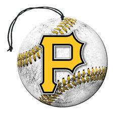 Pittsburgh Pirates Baseball Air Freshener Vanilla Scent 3 Pack Car Truck NEW!!