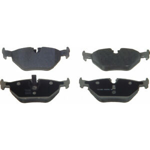 Disc Brake Pad Set-ThermoQuiet Disc Brake Pad Rear Wagner MX763