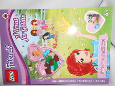 LEGO Friends - A Treat For Goldie Activity Book With Mini Figure Bird Pet Set