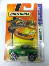 2007 MATCHBOX 55TH ANNIVERSARY 1/64 SCALE 1972 FORD BRONCO #58 MBX METAL