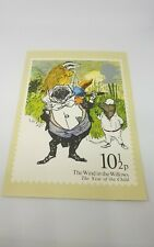 PHQ 37  -  POST OFFICE POSTCARD - CHILDREN - THE WIND IN THE WILLOWS - 1979