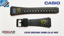 VINTAGE CASIO ORIGINAL BAND CA-62   NOS