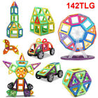 142tlg Magnetische Bausteine Magnetic Building Bausatz Kinder Spielzeug Geschenk