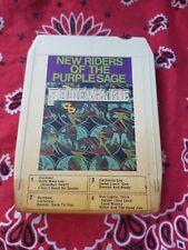 New Riders Purple Sage Powerglige 8track Tape Cartridge
