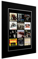 MOUNTED / FRAMED PRINT MADNESS DISCOGRAPHY   3 SIZES POSTER GIFT ARTWORK