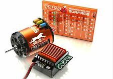 SkyRC Cheetah 3250KV 10.5T Sensored Brushless Motor CS60 60A ESC For 1/10 car