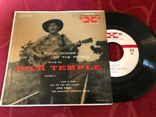 Pick Temple - Folk Songs 2 - RCA EXA-49 45 rpm EP