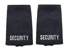 Epaulette Security Epaulette Slider Sold Pair Black  Epaulettes R423