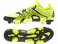 adidas X 15.1 FG/AG Men's Firm Ground Moulded Sole Football Boots - Yellow/Black