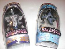Battlestar Galactica - Titanium Rare Out Of Print Set Viper Mark Vii & Colonial1