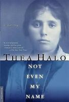NOT EVEN MY NAME by Thea Halo FREE SHIPPING paperback book Armenian genocide