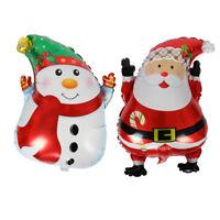 Noël Santa Claus bonhomme de neige ballon de mariage ballons en alumini rLTRFR