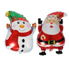 Noël Santa Claus bonhomme de neige ballon de mariage ballons en aluminiumI