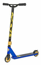 STAR-SCOOTER® Premium Freestyle Stuntscooter ★ 100mm Advanced Entry ★ Blau