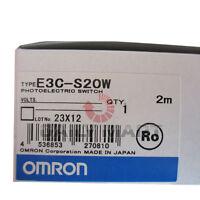 OMRON NEW E3C-S20W PLC Photo Separate AMP Through Beam Photoelectric Sensor