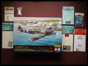 Tamiya Supermarine Spitfire Mk.IXc 1:32 Model Kit + Extras