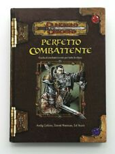 ⚝ BUONO ITA ⚝ MANUALE PERFETTO COMBATTENTE D&D DUNGEONS AND & DRAGONS 3.5 3.0 ⚝