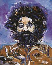 Jerry Garcia Ltd Litho Print Signed by Original Artist Edward Hickey FREE ship