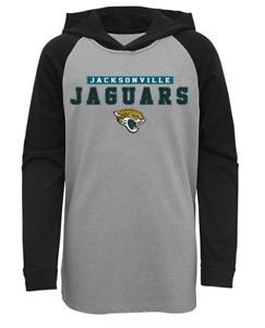 NFL Jacksonville Jaguars Long Sleeve Lightweight Hoodie Boys Large NWT