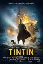 THE ADVENTURES OF TINTIN: THE SECRET OF THE UNICORN Movie Promo POSTER E