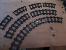 LEGO City Train Track 16 Pieces Curved Makes Circle For 60051 60052 60098