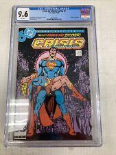 DC Comics Crisis On Infinite Earths 7 CGC Graded 9.6