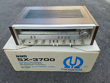 Vintage Pioneer SX-3700 Stereo Receiver With Original Box - Very Clean
