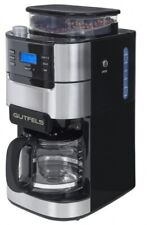 GUTFELS Kaffeemaschine mit Mahlwerk KA 8102 swi, Glaskanne, 900 Watt, schwarz
