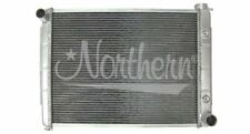 1971-73 Plymouth Fury Radiator (passenger outlet; side tanks)