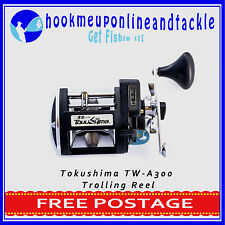 TOKUSHIMA TW-A300 Fishing Reel with Alloy Spool Saltwater Tackle Sport