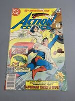 DC Comics SUPERMANS Action Comics 40th Anniversary Issue #484 June 1978