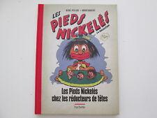 PIEDS NICKELES CHEZ LES REDUCTEURS DE TETES N°28 TTBE/NEUF DOS TOILE ROUGE