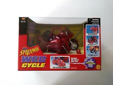 """'MARVEL'  -  """"SPIDER - MAN  WEB CYCLE""""  -   by TOY BIZ  -  1998  -  NEW"""