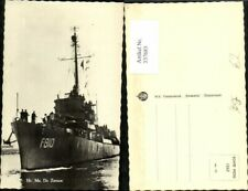 337683,Foto Ak Schiff Kriegsschiff Marine Hr. Ms. De Zeeuw F810