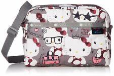 Hello Kitty LeSportsac 45th Shoulder Bag DANIELLA CROSSBODY Gray Japan Tracking