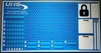 Rekeying / Locking / Pinning  Locksmith Pinning Mat  - Lock Sport - Lock Picking