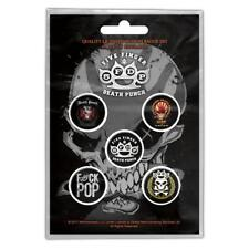 Five Finger Death Punch buttonset/Badge Set/ansteckerset # 1 Way of the Fist
