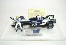 Hot Wheels 1/18th BMW Williams Fw27 Mark Webber Includes Race Suit Swatch