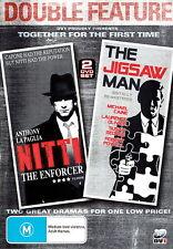Jigsaw Man / Nitti :The Enforcer - Action/ Thriller/ Drama  - 2 NEW DVD