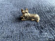 More details for sterling silver yorkshire terrier figure statue